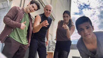Teen Wolf Behind the Scenes Dylan O'Brien Douglas Tait Jordan Fisher Caitlin Dechelle Port of LA 91015.jpg