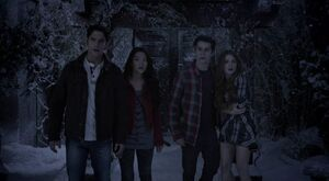 The Divine Move - Scott, Kira, Stiles, Lydia