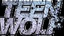 Teen wolf logo goutelettes