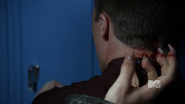 Derek scratches Jackson with wolfsbane
