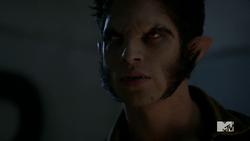 Teen Wolf Season 4 Episode 3 Muted Scott wolf on the roof