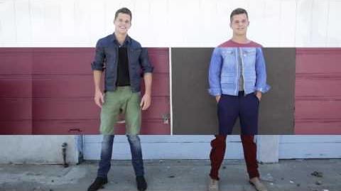 """Pieces of Carver"" starring Max & Charlie Carver - (BELLO mag Presents)"