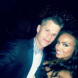Charlie Carver and Meagan Tandy 12th episode wrap party