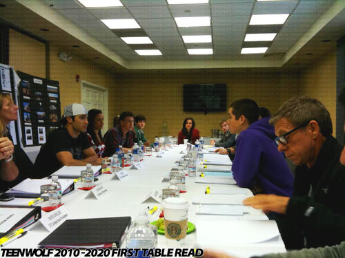 Teen-Wolf-January-2010-Tyler-Hoechlin-Dylan-OBrien-Colton-Haynes-First-Table-Read