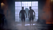 Teen Wolf Season 3 Episode 1 Tattoo Max Carver Charlie Carver Alpha Twins Pre Morph
