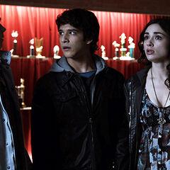 Scott et Stiles retrouvent Allison