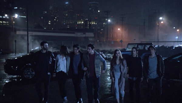 Shelley-Henning-Tyler-Hoechlin-Dylan-Sprayberry-Holland-Roden-Dylan-O'Brien-Tyler-Posey-Benjamin-Wadsworth-Malia-Derek-Liam-Lydia-Stiles-Scott-Alec-Teen-Wolf-Season-6-Episode-20-The-Wolves-of-War