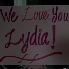 Even in her nightmares EVERYBODY LOVES LYDIA