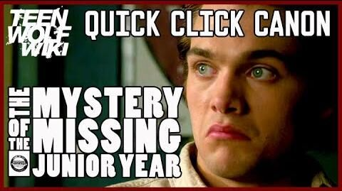 Teen Wolf Mystery Solved - Liam's Missing Junior Year