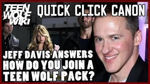 Jeff Davis Answers Teen Wolf Canon Questions