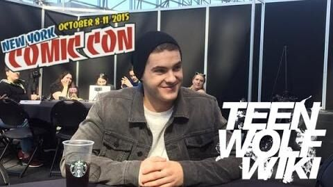 Cody Christian Teen Wolf Wikia interview NYCC 2015