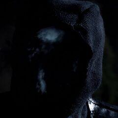 Intérieur du visage d'un Oni.