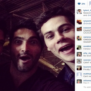 Teen Wolf First Day Shooting - Dem Boys iz Cray