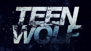 Teen Wolf Season 5 opening credit logo