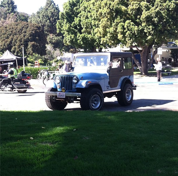 Amado Image - Teen Wolf Season 3 Behind the Scenes Stiles Jeep at Pali  QS17