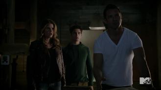 Teen Wolf Season 4 Episode 2 117 Malia and Scott Visit Peter