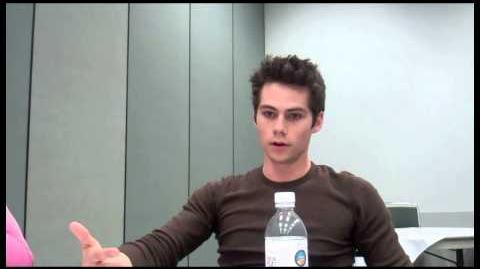 "Dylan O'Brien Interview - ""Teen Wolf"""