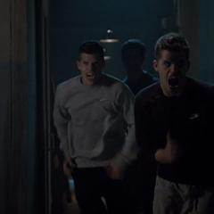 les jumeaux attaquant Stiles