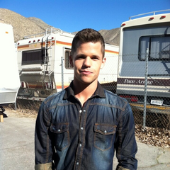 Charlie Carver Behind the Scenes Acton, California