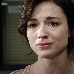 Allison est en pleures