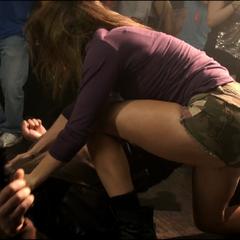 Malia met K.O le chasseur Cory.