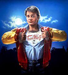 M.J. Foxx als Teen Wolf