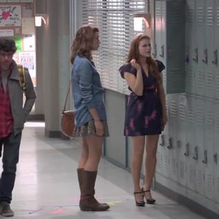 Teen Wolf Behind the Scenes Crystal Reed Holland Roden Beacon Hills High Set Northridge