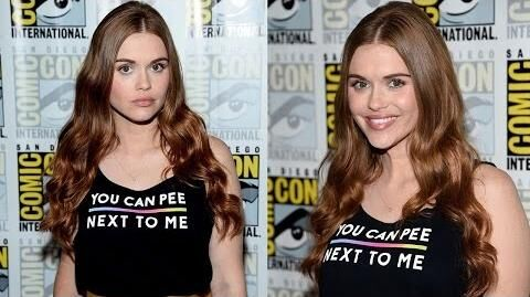 Comic-Con 2016 Holland Roden Teases Stydia, Malia Relationships
