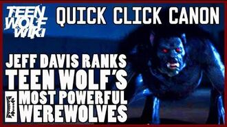 Teen Wolf Mystery Jeff Davis Werewolf Rankings