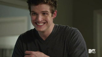 Isaac smiling