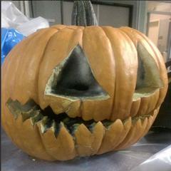 Citrouille pour le double épisode sur Halloween (3.15 et 3.16)