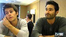 Teen Wolf Season 3 Dylan O'Brien & Tyler Hoechlin Interview