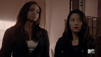 Teen Wolf Season 4 Episode 10 Monstrous Braeden and Kira