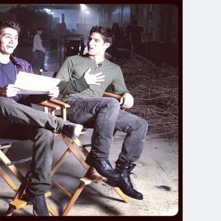 Teen Wolf First Day Shooting - O'Brien and Posey