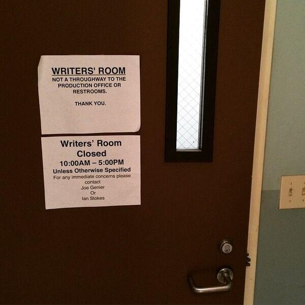 Teen Wolf Season 5 Behind the Scenes Writers room 040815