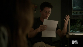 Teen Wolf Season 4 Episode 11 A Promise to the Dead Stiles can't believe it