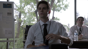 Dylan-O'Brien-Stiles-FBI-intern-Teen-Wolf-Season-6-Episode-11-Said-the-Spider-to-the-Fly