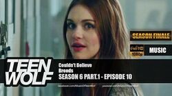 Broods - Couldn't Believe Teen Wolf 6x10 Music HD