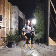 Teen Wolf Season 3 Behind the Scenes Crystal Reed Promo Shoot 1024
