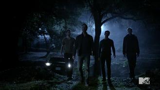 Teen Wolf Season 3 Episode 3 Fireflies Tyler Hoechlin JR Bourne Tyler Posey Daniel Sharman