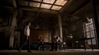 Derek, Peter and Isaac at loft