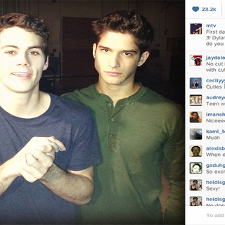 Teen Wolf First Day Shooting Stiles' Hair