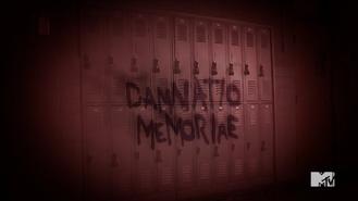 Teen Wolf Season 5 Episode 13 Codominance Damnatio Memoriae on the lockers
