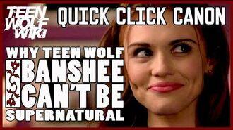 Teen Wolf Banshee are NOT Supernatural? Mountain Ash Test