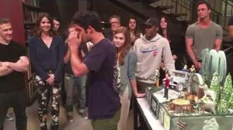 Tyler Posey Cry and Say Goodbye to Teen Wolf Cast (