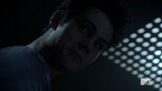 Teen Wolf Season 3 Episode 20 Echo House Dylan Obrien Stiles Stilinski Possessed And Smirking