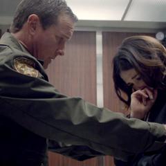 Der Sheriff tröstet <a href=