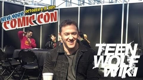 Teen Wolf Wikia Jeff Davis Interview NYCC 2015
