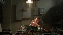 Pete-Ploszek-Garrett-Douglas-wiring-Teen-Wolf-Season-6-Episode-6-Ghosted