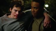 Dylan-Sprayberry-Khylin-Rhambo-Mason-helping-Liam-Teen-Wolf-Season-6-Episode-14-Face-to-Faceless